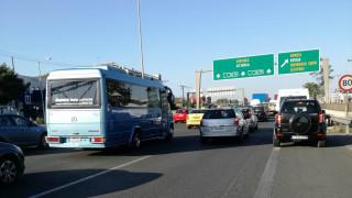 Τροχαίο στην Αθηνών - Λαμίας