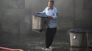 Ιράκ: Aστυνομικοί και ένας υπάλληλος πίσω από τον εμπρησμό αποθήκης με ψηφοδέλτια