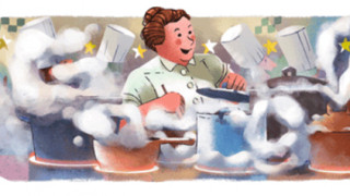 Eugenie Brazier: Αφιερωμένο στη Γαλλίδα σεφ το Doodle της Google