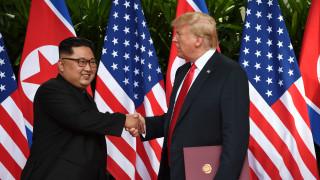 Ντόναλντ Τραμπ - Κιμ Γιονγκ Ουν δεσμεύτηκαν στην αποπυρηνικοποίηση της κορεατικής χερσονήσου