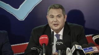 Καμμένος: Δεν υπάρχει περίπτωση η συμφωνία να γίνει δεκτή στην πΓΔΜ