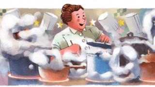 Η «μητέρα Brazier» τιμάται στο σημερινό Doodle της Google