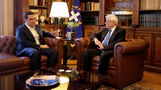 Τσίπρας σε Παυλόπουλο: Καταλήξαμε σε καλή συμφωνία