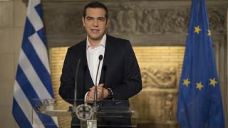 Τσίπρας: Η γειτονική χώρα συμφώνησε να μετονομαστεί σε «Δημοκρατία της Severna Makedonija»