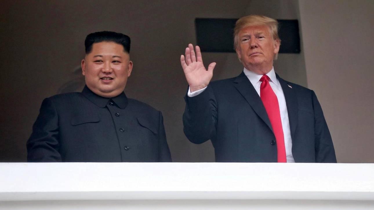 «Ο Τραμπ υποσχέθηκε την άρση των κυρώσεων σε βάρος της Βόρειας Κορέας»