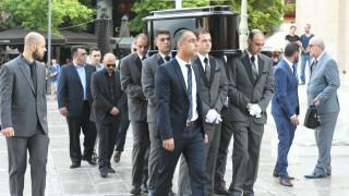 Το τελευταίο «αντίο» στον Παύλο Γιαννακόπουλο