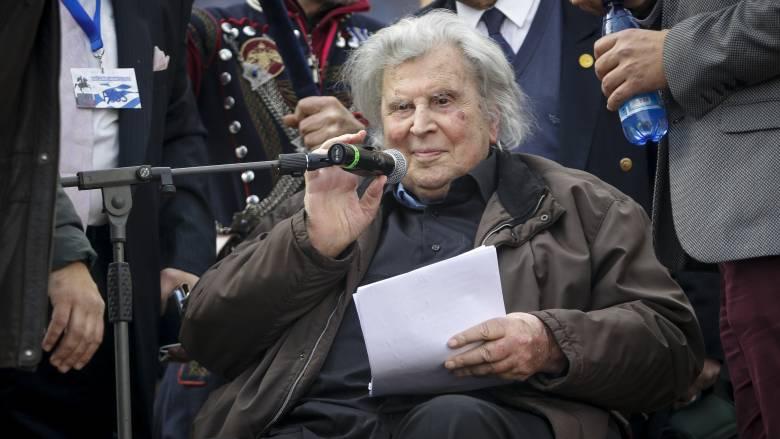 Μίκης Θεοδωράκης: Ιστορική ήττα και εθνική μειοδοσία η συμφωνία για το Σκοπιανό