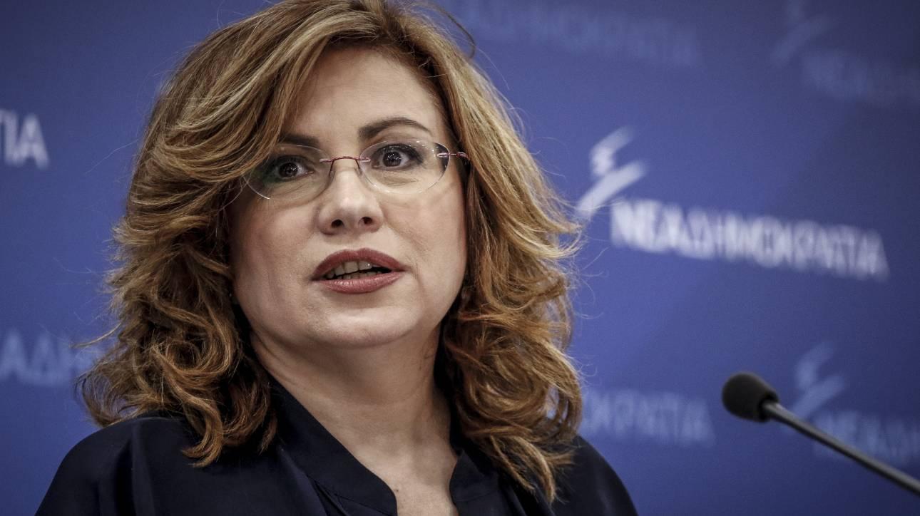 Σπυράκη: Η συμφωνία είναι κακή και ο Τσίπρας δεν δικαιούται να την υπογράψει