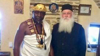 Αφρικανός Βασιλιάς βαπτίστηκε χριστιανός ορθόδοξος στο Άγιο Όρος