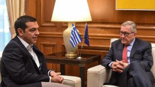 Συγχαρητήρια Ρέγκλινγκ στον Τσίπρα για τη συμφωνία με την πΓΔΜ