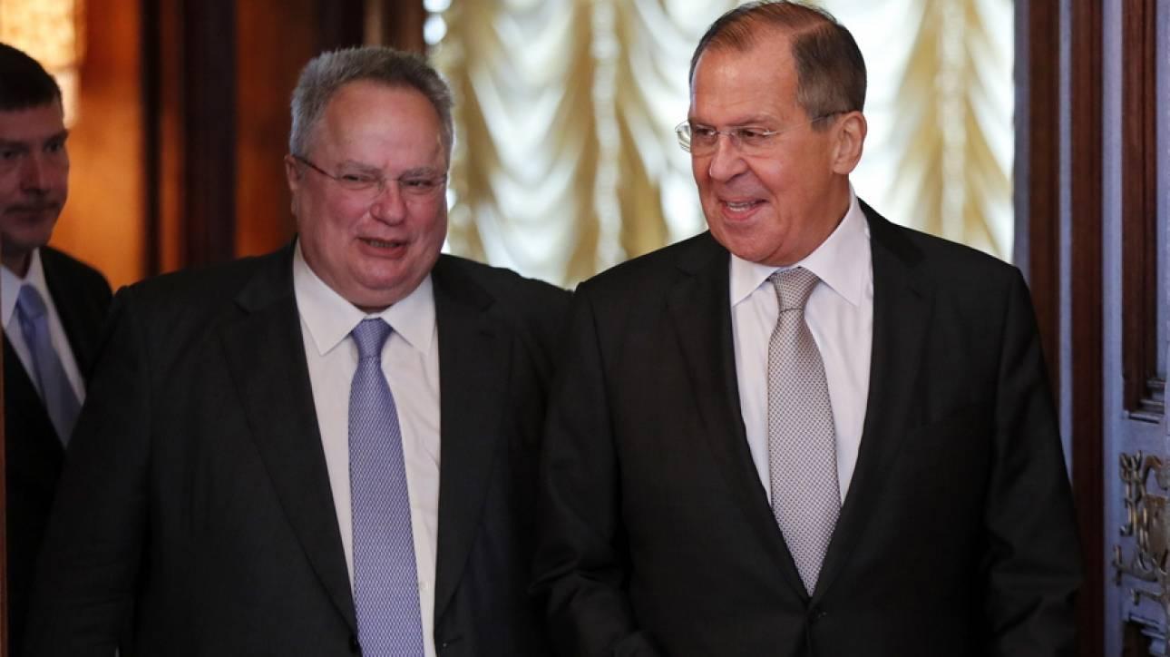 Διμερή θέματα, Ουκρανία, Βαλκάνια, Μεσόγειος και Μέση Ανατολή στην συνάντηση Κοτζιά-Λαβρόφ