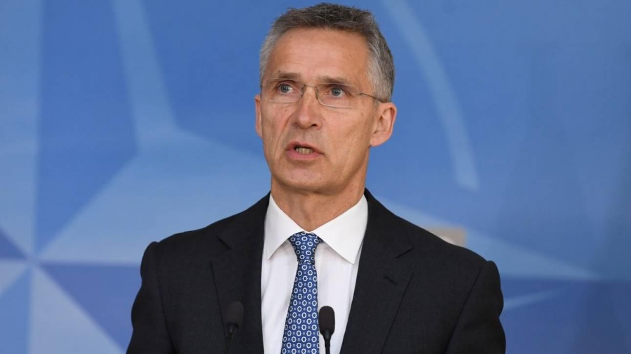 Στόλτενμπεργκ: Η ένταξη της πΓΔΜ στο ΝΑΤΟ απαιτεί η συμφωνία να ολοκληρωθεί