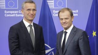 Κοινό ανακοινωθέν Στόλτενμπεργκ - Τουσκ για τη συμφωνία Ελλάδας - Σκοπίων