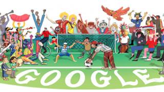 Παγκόσμιο Κύπελλο Ποδοσφαίρου 2018: Αφιερωμένο στη διοργάνωση το Doodle της Google