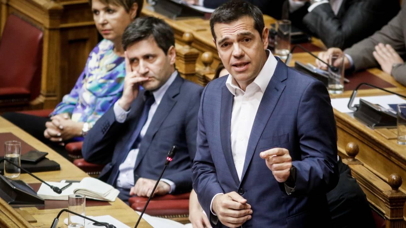 Τσίπρας: Η πρόταση δυσπιστίας είναι καλοδεχούμενη