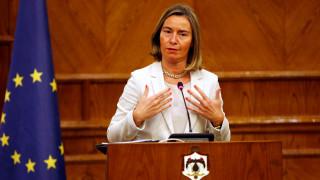 Μογκερίνι για Σκοπιανό: Όλα τα κόμματα του Ευρωκοινοβουλίου υποστηρίζουν τη συμφωνία