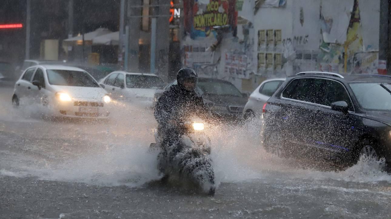 Κακοκαιρία: Βροχές, καταιγίδες και χαλάζι φέρνει ο «Μίνωας»
