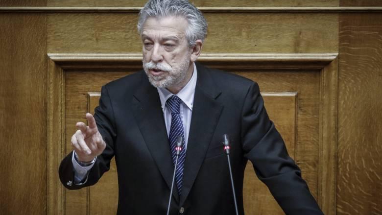 Κοντονής κατά ΝΔ για την προτροπή Μπαρμπαρούση σε πραξικόπημα