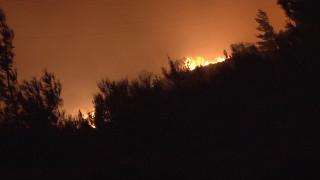 Φωτιά στη Τζιά - Χωρίς πυροσβεστική το νησί
