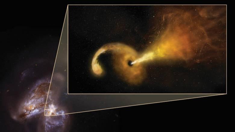Διάστημα: Τι συμβαίνει όταν μια μαύρη τρύπα καταστρέφει ένα αστέρι