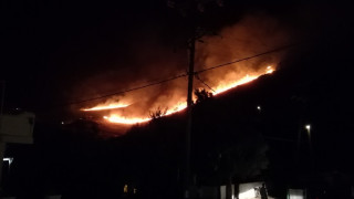 Αίσιο τέλος στην πυρκαγιά της Κέας από εθελοντικό πυροσβεστικό κλιμάκιο
