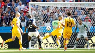 Παγκόσμιο Κύπελλο Ποδοσφαίρου 2018: Δυνατή αρχή για τη Γαλλία που επικράτησε 2-1 της Αυστραλίας