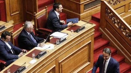 Live Βουλή: Σήμερα η ψηφοφορία για την πρόταση μομφής της ΝΔ κατά της κυβέρνησης
