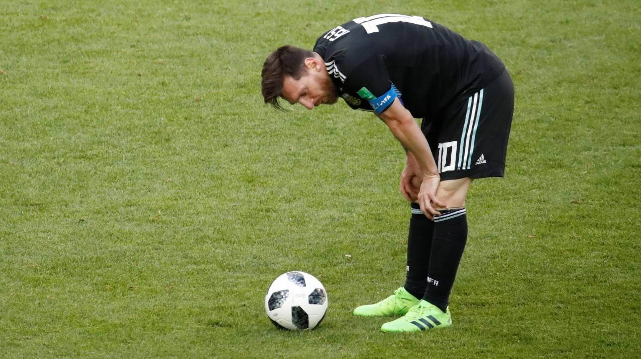Παγκόσμιο Κύπελλο Ποδοσφαίρου 2018: Αργεντινή - Ισλανδία 1-1 με χαμένο πέναλτι