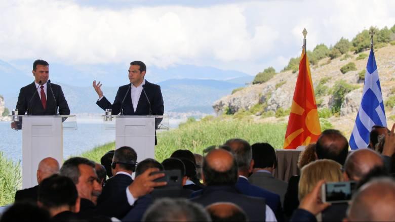 Υπεγράφη η ιστορική συμφωνία για το ονοματολογικό της πΓΔΜ