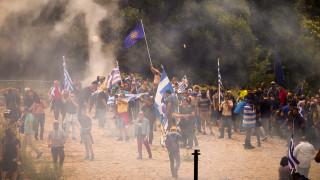 Επεισόδια, χημικά και τραυματίες στο συλλαλητήριο κατά της συμφωνίας στο Πισοδέρι