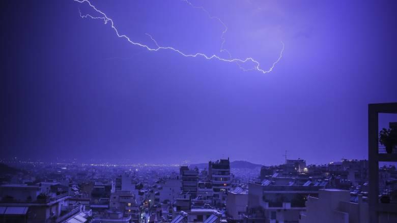 Έκτακτο δελτίο ΕΜΥ: Αυτές τις περιοχές θα «σαρώσει» η κακοκαιρία τις επόμενες ώρες