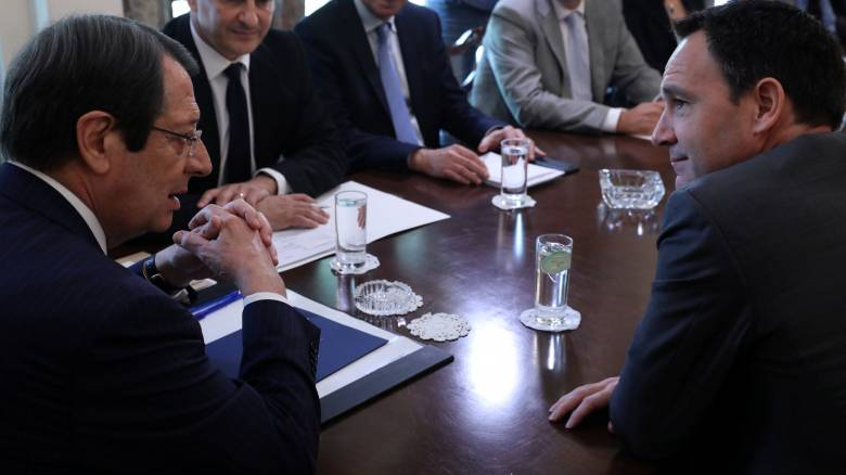 Αναστασιάδης: Θετική η διαβούλευση με την TOTAL