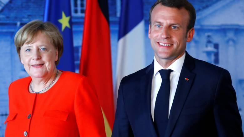 Μέρκελ και Μακρόν συμφωνούν στα βασικά θέματα για τον προϋπολογισμό της Ευρωζώνης