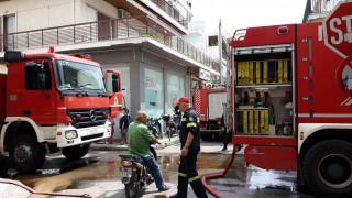Φωτιά σε πολυκατοικία στο Χαλάνδρι