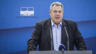 Καμμένος: Η συμφωνία με την πΓΔΜ να ψηφιστεί με αυξημένη πλειοψηφία