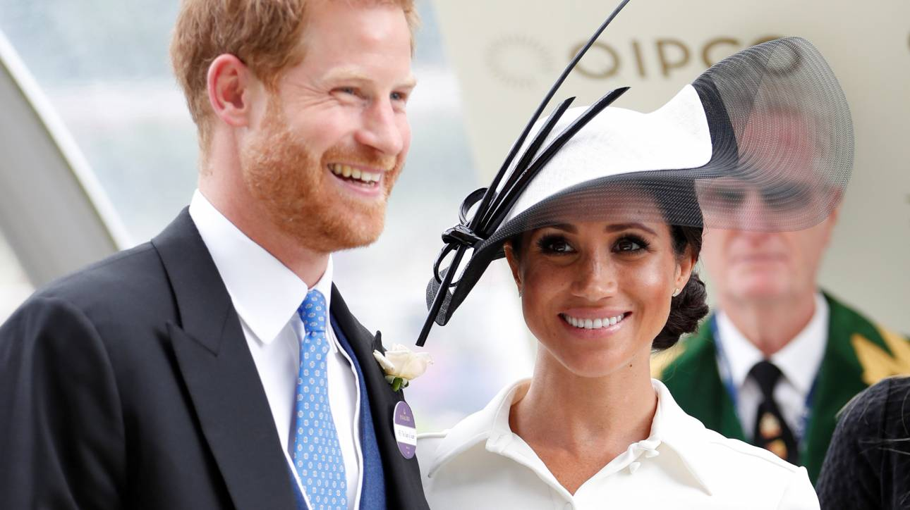 Royal Ascot: έρωτας με την πρώτη ματιά για τους Mαρκλ & Χάρι
