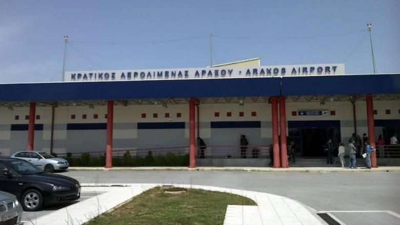 Λύθηκε το πρόβλημα στο πολιτικό αεροδρόμιο του Αράξου