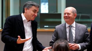 Τριμερής συνάντηση Ελλάδας, Γαλλίας και Γερμανίας στο περιθώριο του Eurogroup