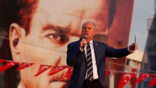 Τουρκία: Χιλιάδες άνθρωποι στην προεκλογική συγκέντρωση του Ιντζέ στη Σμύρνη