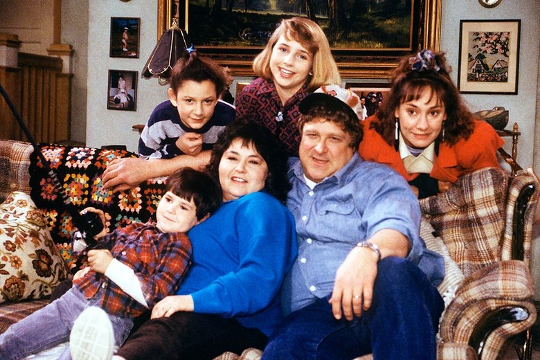 roseanne television show still abc photo archives