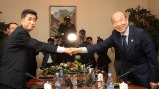 Επανένωση οικογενειών που χωρίστηκαν στον πόλεμο της Κορέας