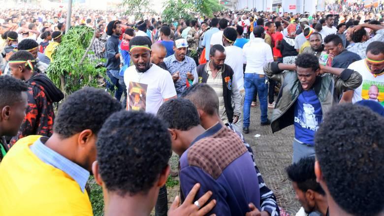 Αιθιοπία: Δεκάδες τραυματίες από επίθεση με χειροβομβίδα σε συγκέντρωση