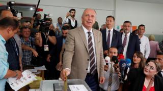 Τουρκικές εκλογές: «Ας γίνει το καλύτερο για τον λαό και τη χώρα» δήλωσε ο Ιντζέ