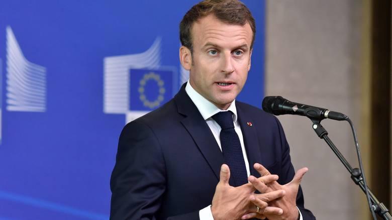 Μακρόν: Η Γαλλία δεν δέχεται μαθήματα από κανέναν
