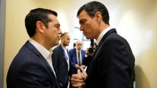 Συγχαρητήρια του Σάντσεθ στον Τσίπρα για τη συμφωνία με την πΓΔΜ