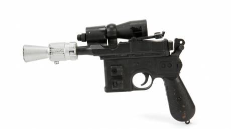 Star Wars: το ψεύτικο πιστόλι του Χαν Σόλο αξίζει μισό εκατομμύριο δολάρια