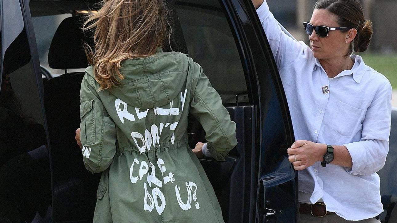 Εμένα πραγματικά με νοιάζει, εσένα; Τρολάρισμα & στιλιστικός πόλεμος στη Μελάνια Τραμπ