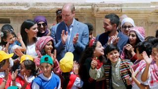Ο πρίγκιπας Ουίλιαμ στην Ιορδανία κατά την περιοδεία του στη Μέση Ανατολή