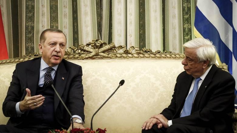 Συγχαρητήρια Παυλόπουλου στον Ερντογάν