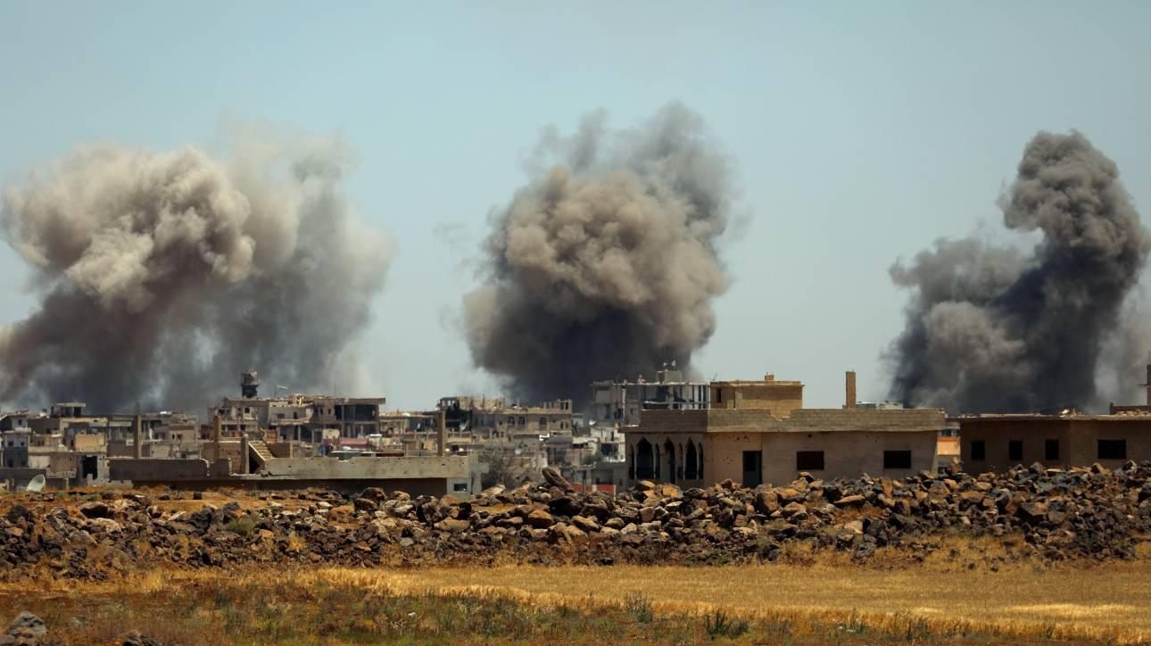 Νέοι βομβαρδισμοί στη Συρία από δυνάμεις του καθεστώτος